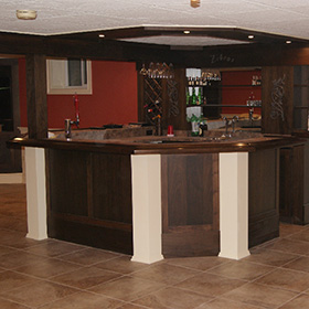 Custom Bar Construction in New Jersey